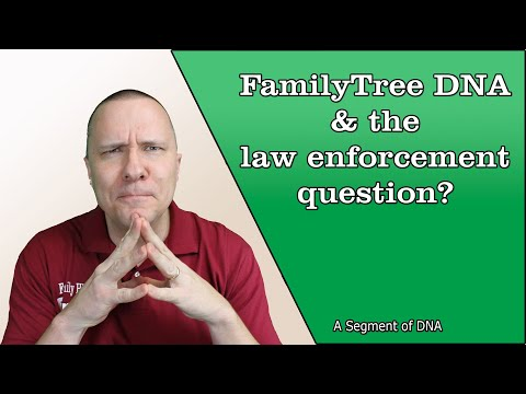 Should You Opt-Out of Law Enforcement Use on FamilyTree DNA? A Segment of DNA