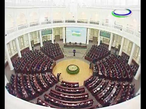 Oliy Majlis Qonunchilik palatasi va Senatining qo'shma majlisi, 8.09.2016