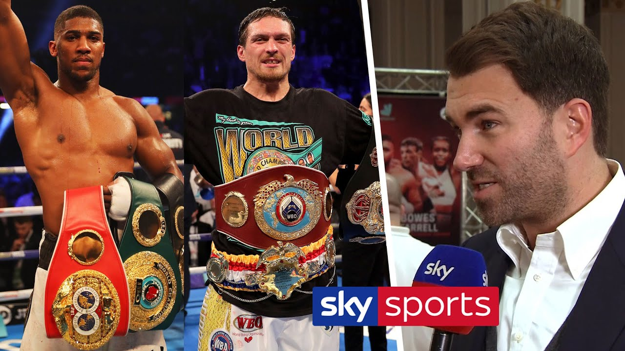 'USYK COULD BE NEXT FOR ANTHONY JOSHUA!' - Eddie Hearn on Usyk, Fowler/Fitzgerald & Da