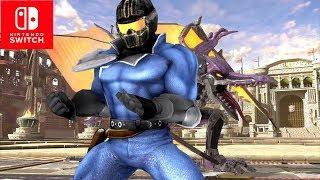 Super Smash Bros. Ultimate Mach Rider Reveal