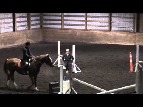 Ren 3 ft grid over oxer Lesson