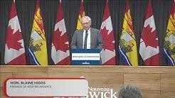 COVID-19 Novel Coronavirus Update - March 16, 2020 - Government of New Brunswick
