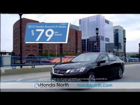 Honda North - July 2015 Accord Lease Special