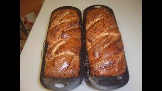 Сладкий ореховый хлеб Маринкины творинки
