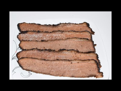 How To Smoke A Beef Brisket In A Masterbuilt Smoker - Smoked BBQ Brisket