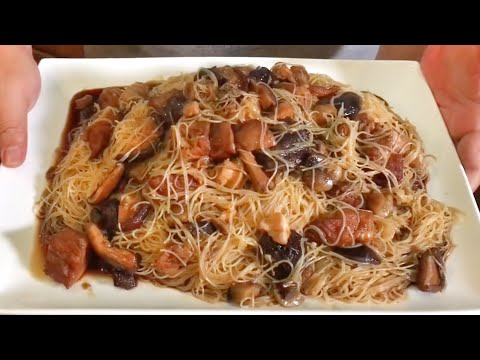 Canned Pig Trotter Beehoon Recipe 罐头猪脚米粉