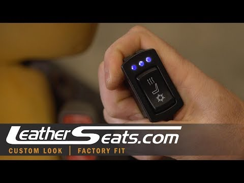 Installing Heating and Cooling Seat Ventilation - Alternate Options - LeatherSeats.com Tech Tips