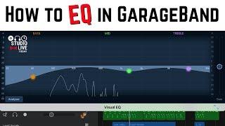 How to use VISUAL EQ in GarageBand iOS (iPhone/iPad)