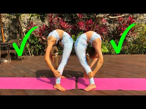 Teagan Vs Sam Single YOGA challenge TWIN vs TWIN!