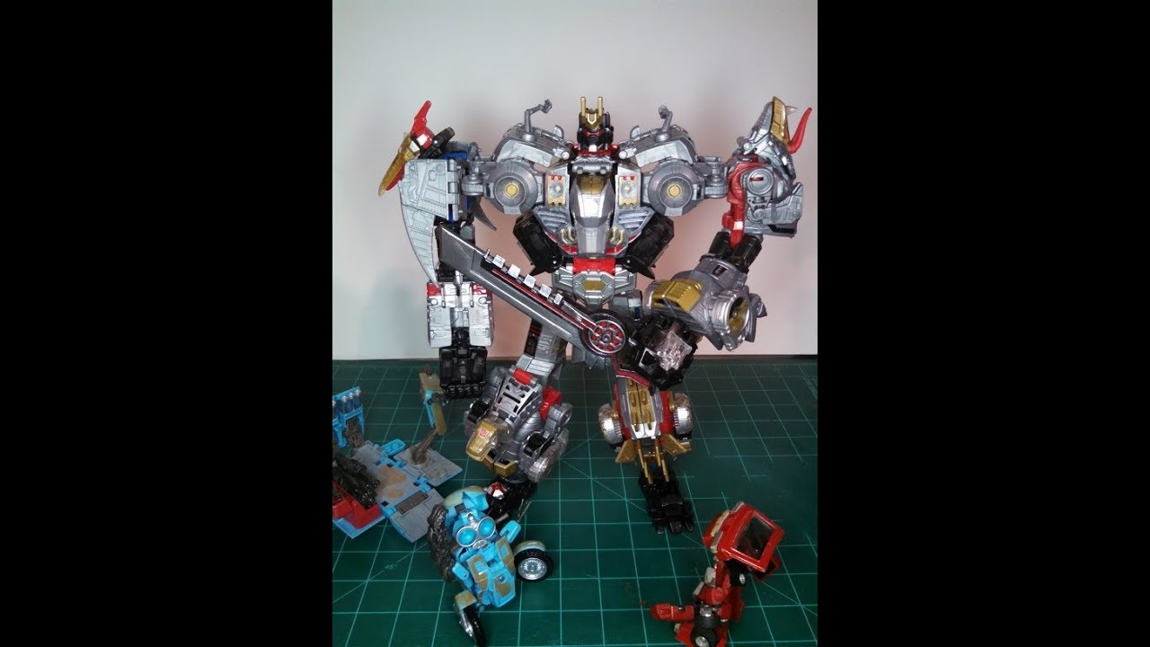 Set 5 Pieces Generations Power of the Primes Volcanicus Dinobot Combiner New