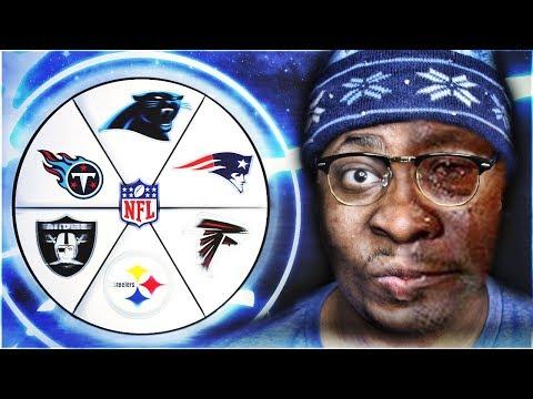 THE WHEEL OF NFL TEAMS! NFL TEAMS THAT WON IN WEEK 2! MADDEN 18 ULTIMATE TEAM