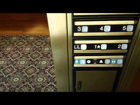 Dover Impulse Traction Elevators @ Wyndham Lisle Hotel, Lisle, IL - Original Retake