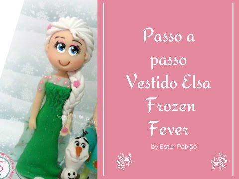 DIY - Passo a passo Vestido Elsa Frozen Fever