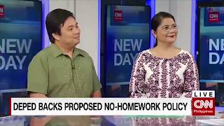 DepEd backs proposed no homework policy