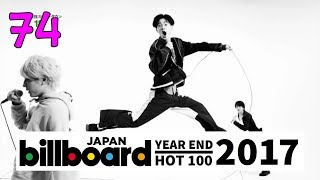 【NEW】JAPAN TOP SONGS 2017 - Billboard Japan Hot 100 Year-End Chart 2017