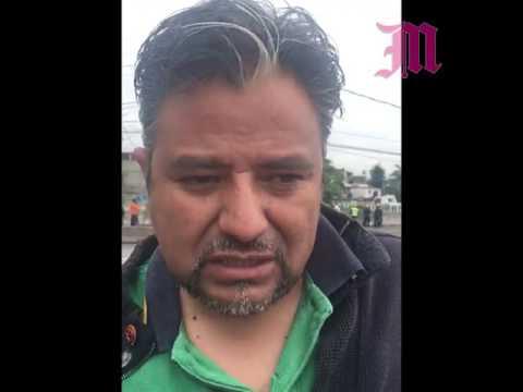 Tragedia por socavón en el Paso Exprés de Cuernavaca Morelos
