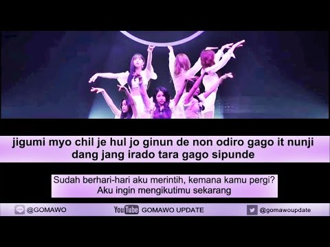 Easy Lyric GFRIEND - TIME FOR THE MOON NIGHT by GOMAWO [Indo Sub]