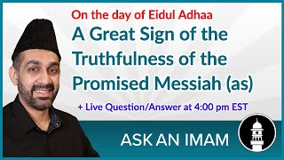 Great Sign on Eidul Adhaa | Ask An Imam