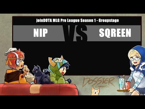[ Dota2 ] NiP vs Sqreen