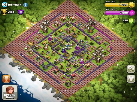 Lets Play Clash of Clans: HACKS!? Oh, Just Lag...