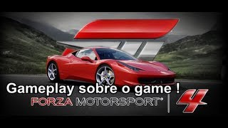 Forza Motorsport 4 Gameplay sobre o game ! Xbox 360