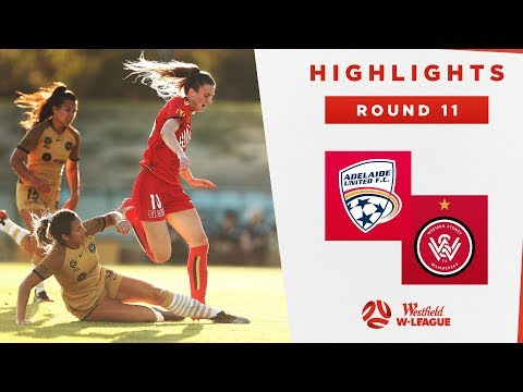 Highlights: Adelaide United V Western Sydney Wanderers – Round 11 Westfield W-League 2019/20 Season