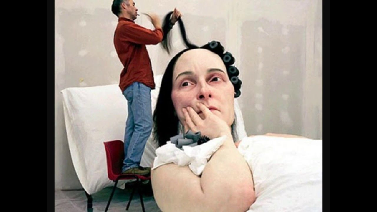 13 Hyper-realistic Sculptures by Ron Mueck | Bored Panda