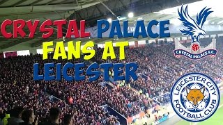 Crystal Palace fans at Leicester || 07/02/15