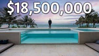 Внутри кондоминиума Beach House на берегу океана за 18 500 000 долларов в Майами
