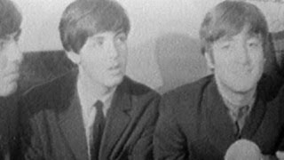 CBS News reports on the Beatles in 1964