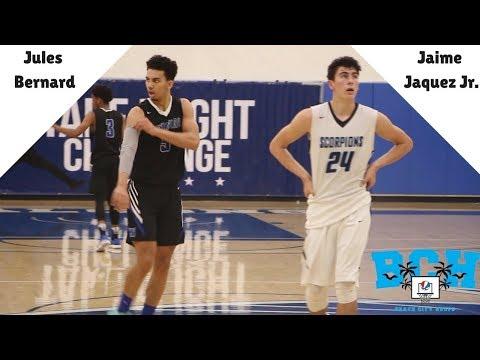 UCLA Commit Jules Bernard & Top 2019 Jaime Jaquez Jr. MATCHUP   Camarillo vs Windward Recap
