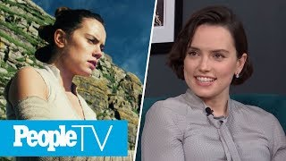 Daisy Ridley Talks About Pushing Through Her Stage Fright | PeopleTV