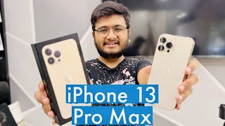 iPhone 13 Pro Max Unboxing | The First Full Unboxing In World!!