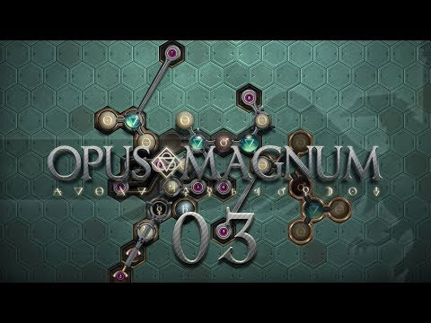 OPUS MAGNUM | STAMINA POTION #03 Amazing Alchemist Game - Let's Play / Gameplay