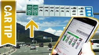 Schneller mit Videomaut: So funktioniert das Videomaut Ticket für die Brennerautobahn