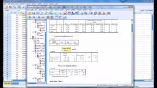 One-way ANOVA and Post Hoc Test Using SPSS