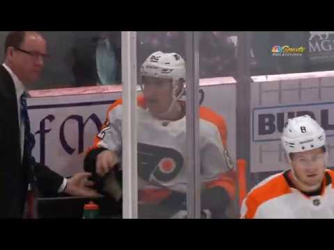 Flyers' Nicolas Aubé-Kubel's Gordie Howe Hat Trick vs the Capitals 2/8/2020