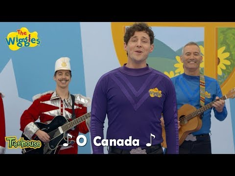 """The Wiggles """"O Canada"""" Sing Along 