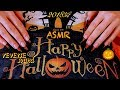 ReVersE ASMR! 🎃 NEW Style-OLD nails But SUPER satisfying ASMR 🎃 HALLOWEEN theme🕷My old Stiletto 😏 🕸