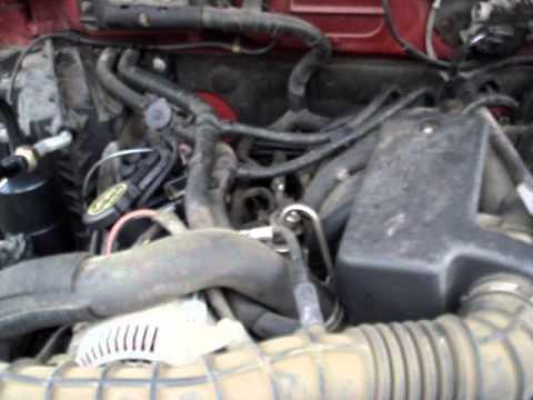 2002 Ford Ranger Edge V6 3 0l Engine Noise Obd Code P0306
