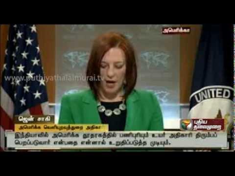As Devyani Khobragade returns, India asks US to recall diplomat of same rank