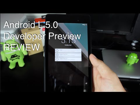 Android L 5.0 Developer Preview Build, Features Overview [REVIEW]