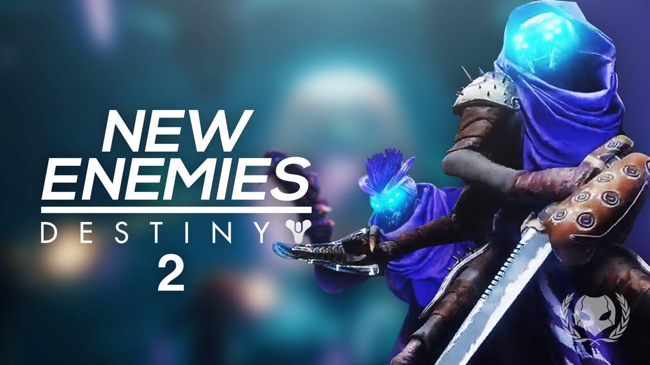 Destiny 2: New Enemy Types! New Fallen House, Vex Mysteries, Hive Shrieker  Boss & More!