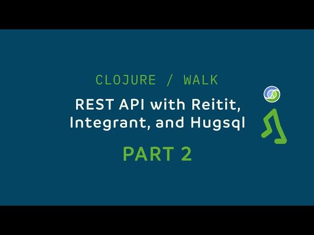 The thumbnail of Part 2: Integrant