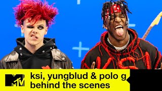 KSI x YUNGBLUD x Polo G - Patience Behind The Scenes | MTV Music