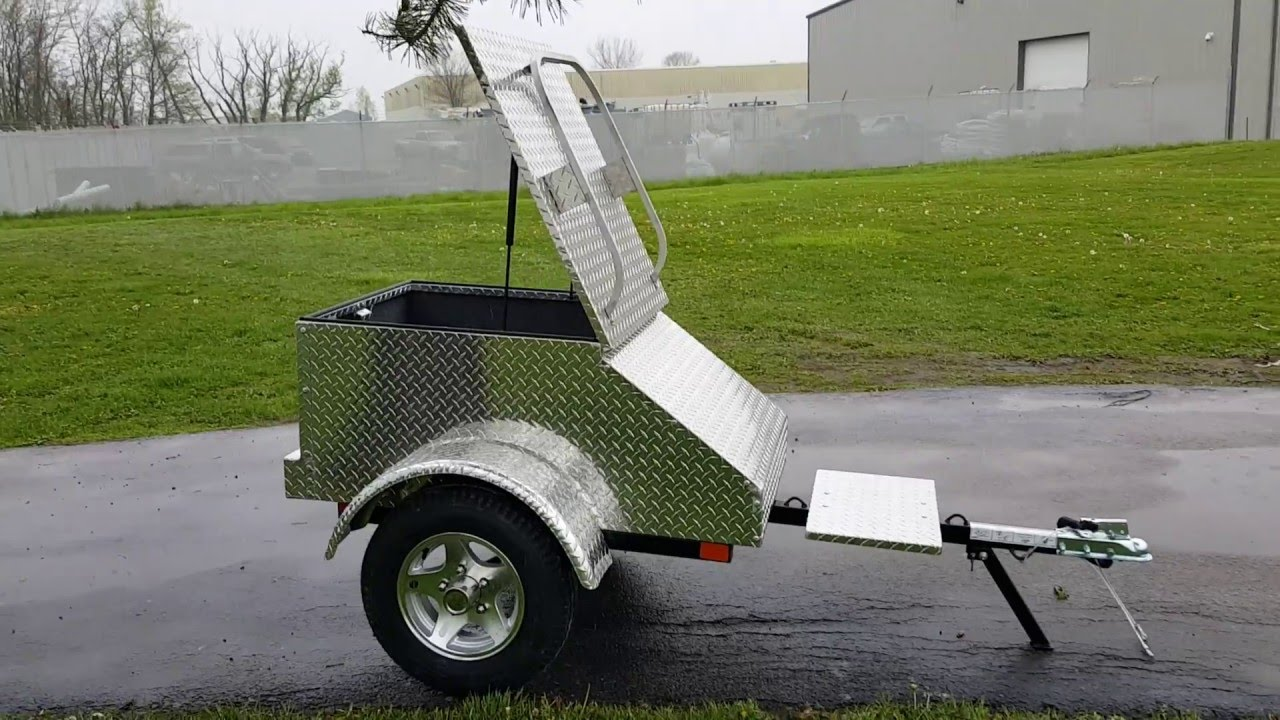 Motorcycle Pull Behind Trailer For Sale From Saferwholesale Com