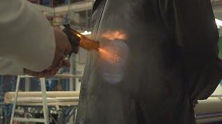 Repeat youtube video Sottili indumenti antiproiettile - hi-tech