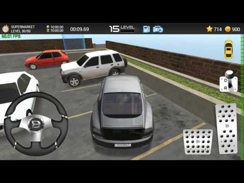 Car Parking Game 3D - Supermarket 30 walkthrough