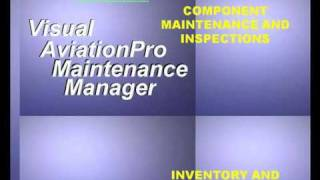 Visual AviationPro™  overview - aircraft maintenance software program