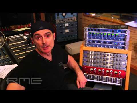 Virgil Donati about RME Fireface UFX and Micstasy